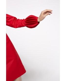 Red Clara Dress