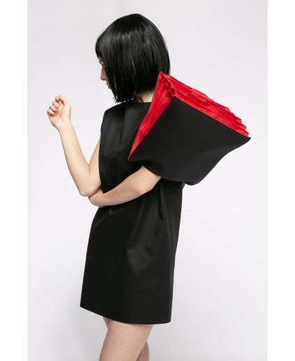 07e1d1d5a312 BLACK AND RED DORA DRESS