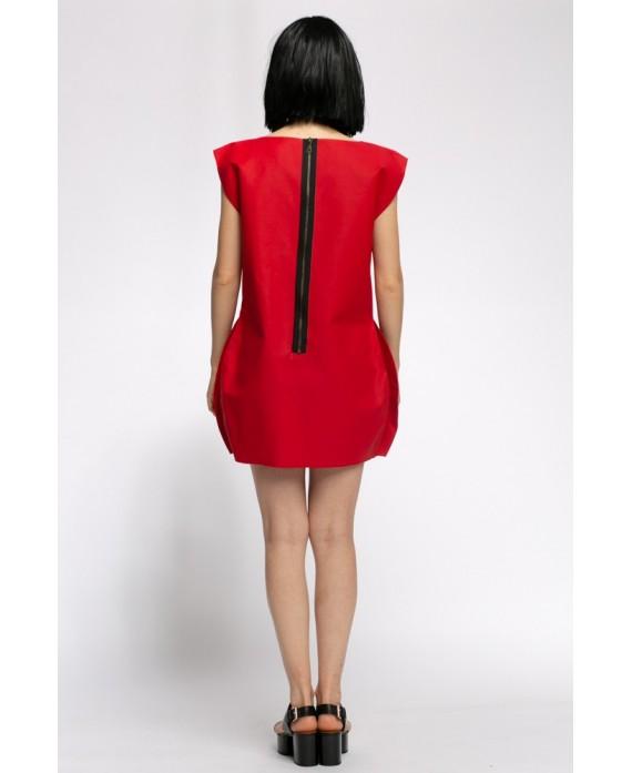 SARA RED DRESS