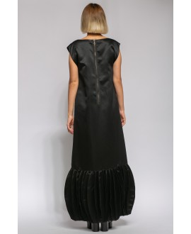 ZORA BLACK LONG DRESS