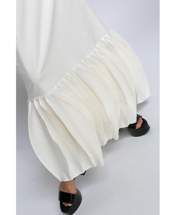 ZORA WHITE LONG DRESS