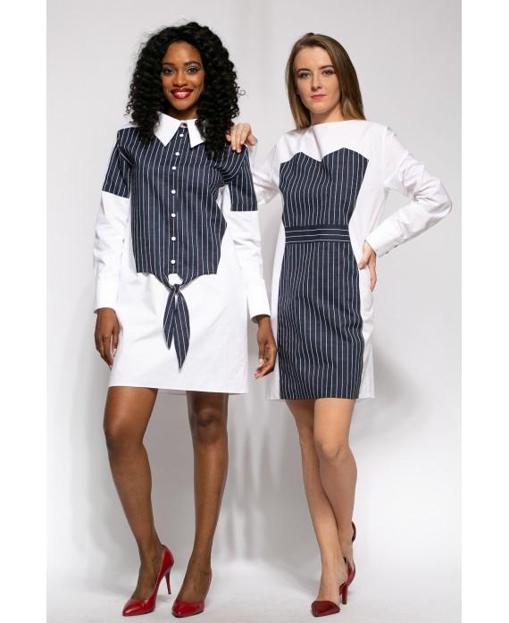 Deconstructed dress shirt Louisse
